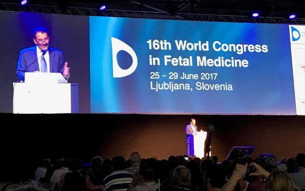 Congreso de medicina fetal en Eslovenia 2017