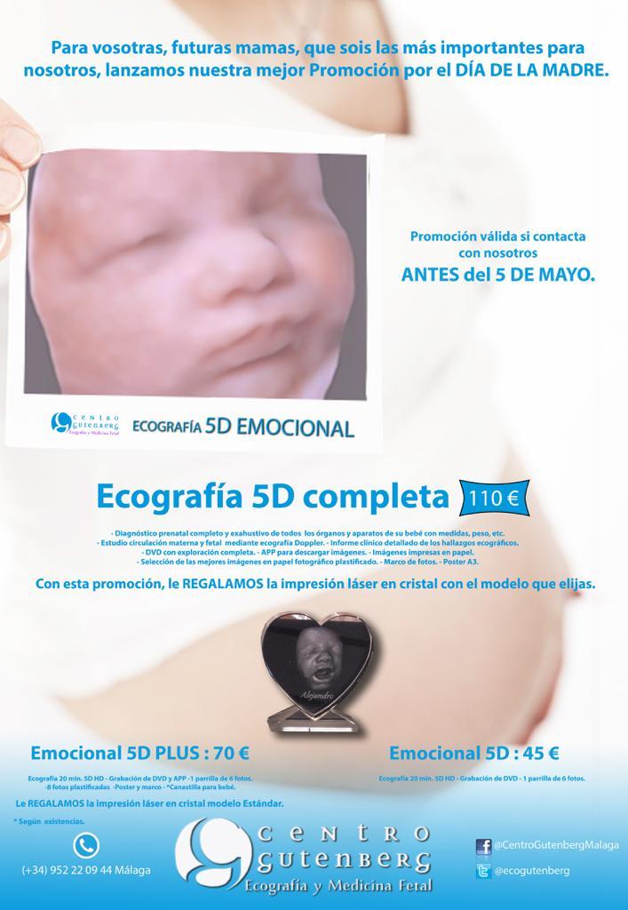 Promoción en ecografía para el Día de la Madre